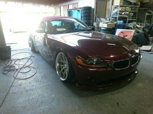 オールペイント@BMWオースチン・イエロー